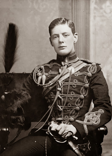 Winston Churchill in uniform