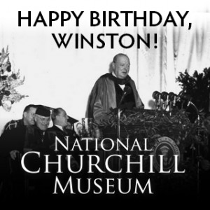 Winston Churchill Birthday