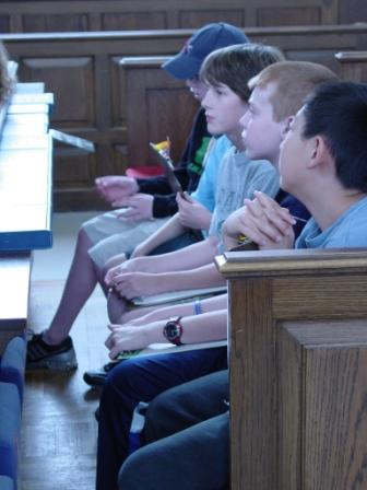 student group in Church