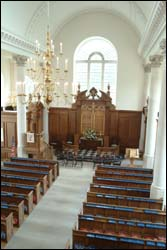 Inside view of The Church of St. Mary the Virgin, Aldermanbury