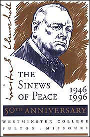 Sinews of Peace Logo- Churchill Museum Green Lecture Series