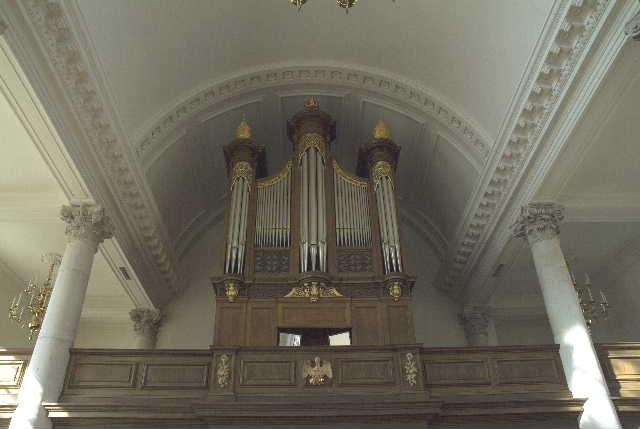 church of st. mary's organ, fulton mo